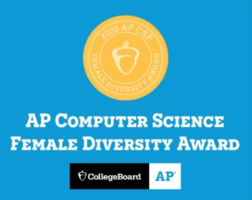 LCSD earns AP Computer Science Female Diversity Award