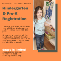 Kindergarten and PreK Registration