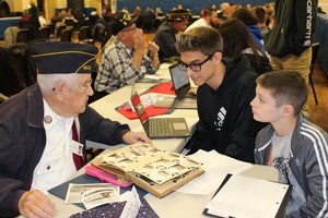 Lyndonville students commemorate Veterans Day
