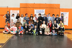 Fourth-graders transform into famous figures