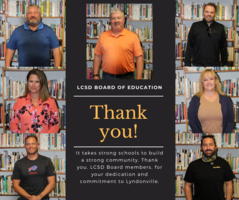 LCSD Celebrates School Board Recognition Week