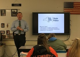 NYS Police Department presents to LCSD