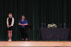 National Honor Society and National Junior Honor Society Inductees
