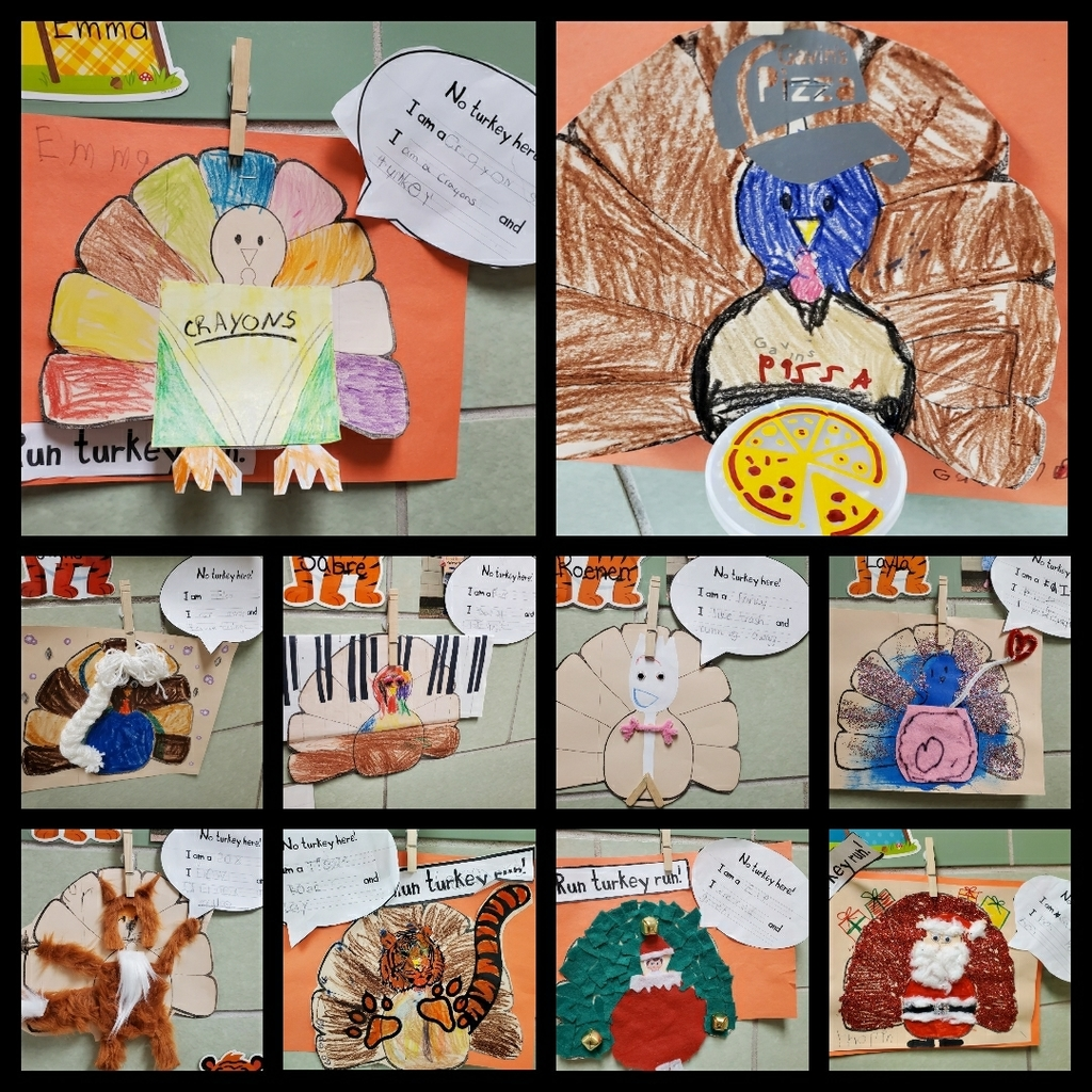 Kindergarten turkeys