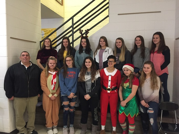 Lyndonville and Medina NYS scholar athlete girls soccer team