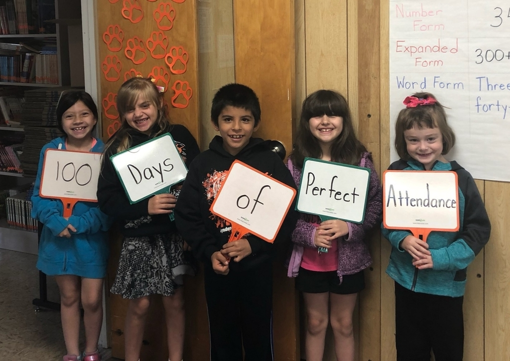 100 Days of Perfect Attendance