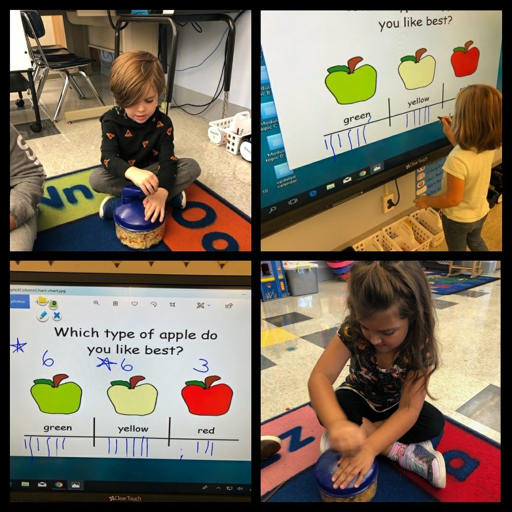Applesauce in kindergarten
