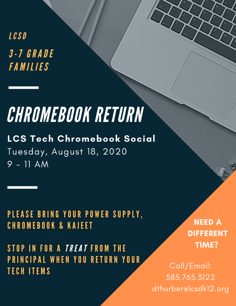Chromebook Return